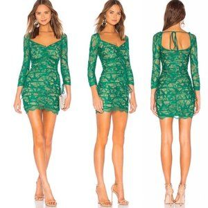NWOT Revolve x H:ours Francin Green Dress S